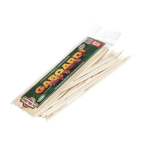 Palitos Roliços Extra Longos De Bambu – 300mm
